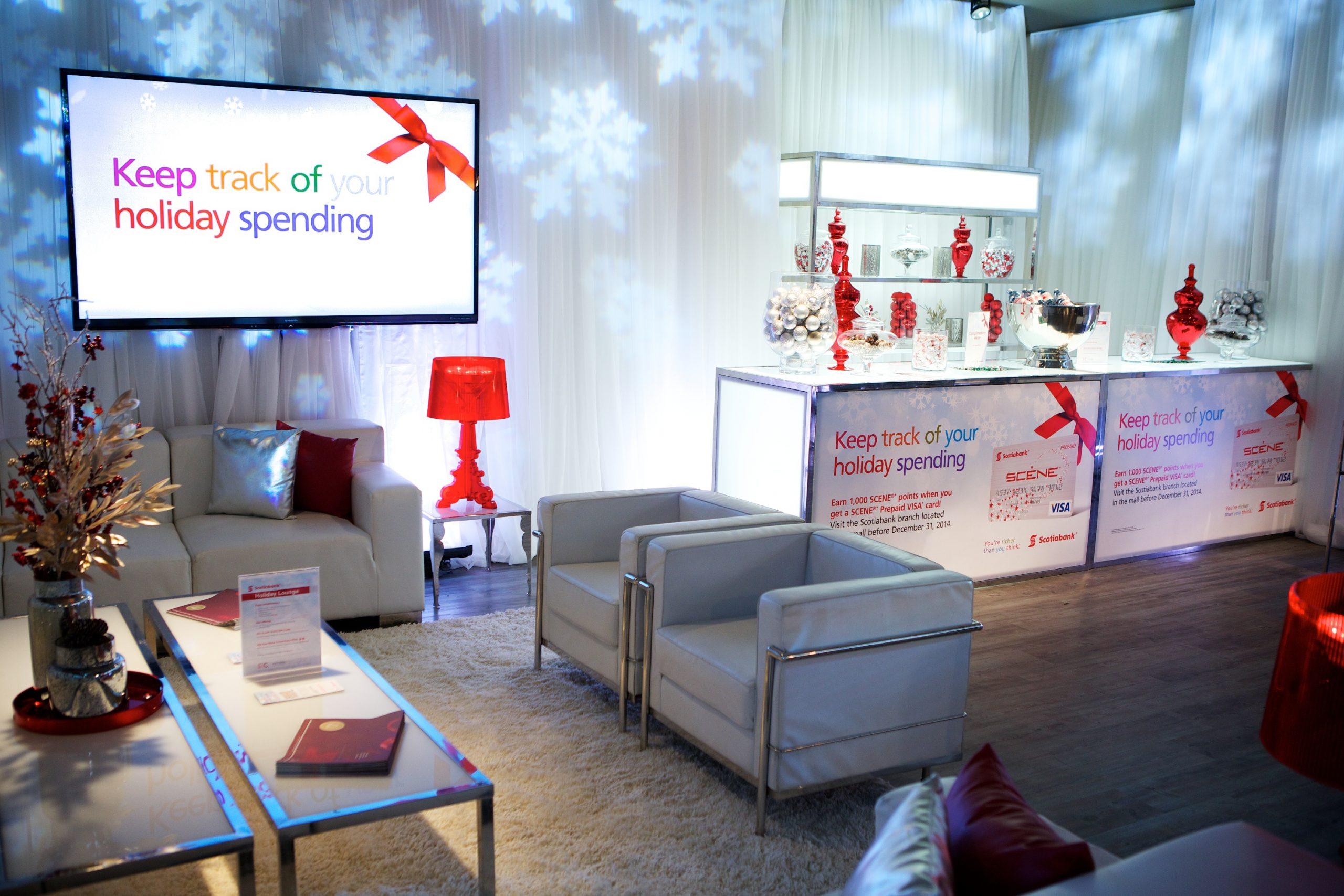 Scotiabank Holiday Lounge