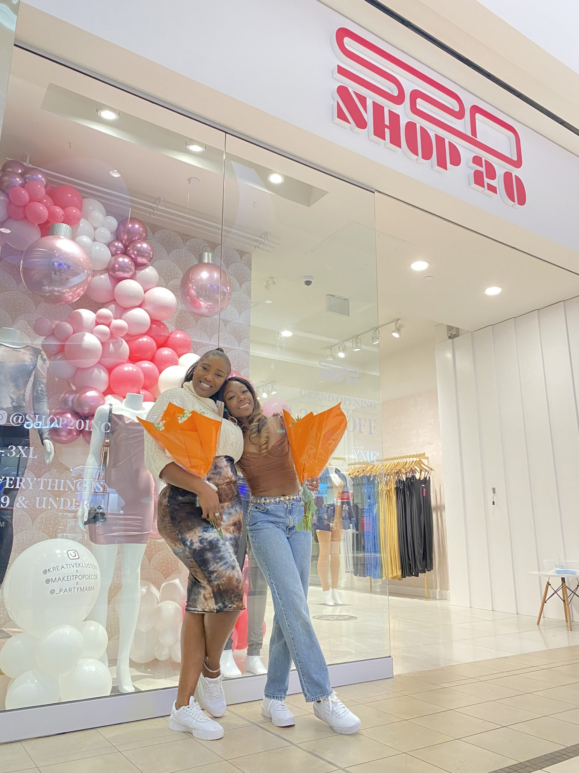 Samantha & Stephanie from Shop20