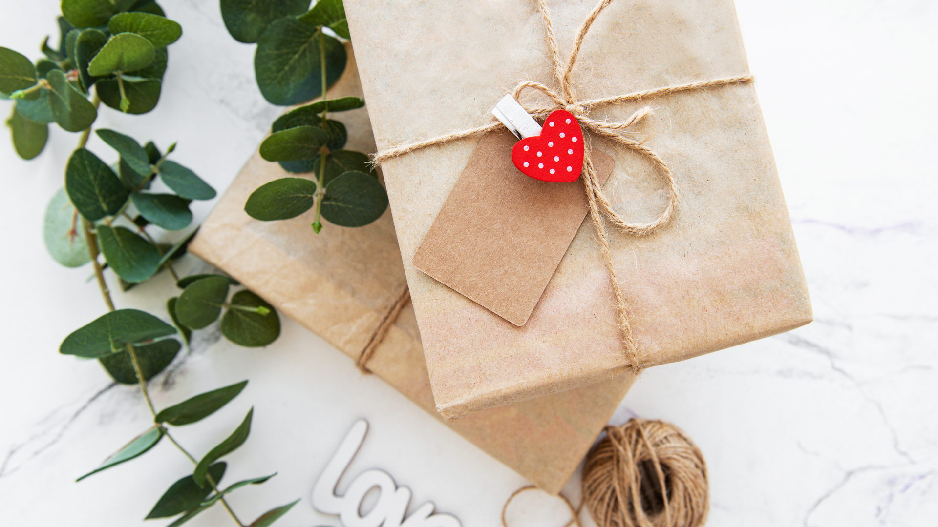 Corporate Gifting - Twine wrapped gift