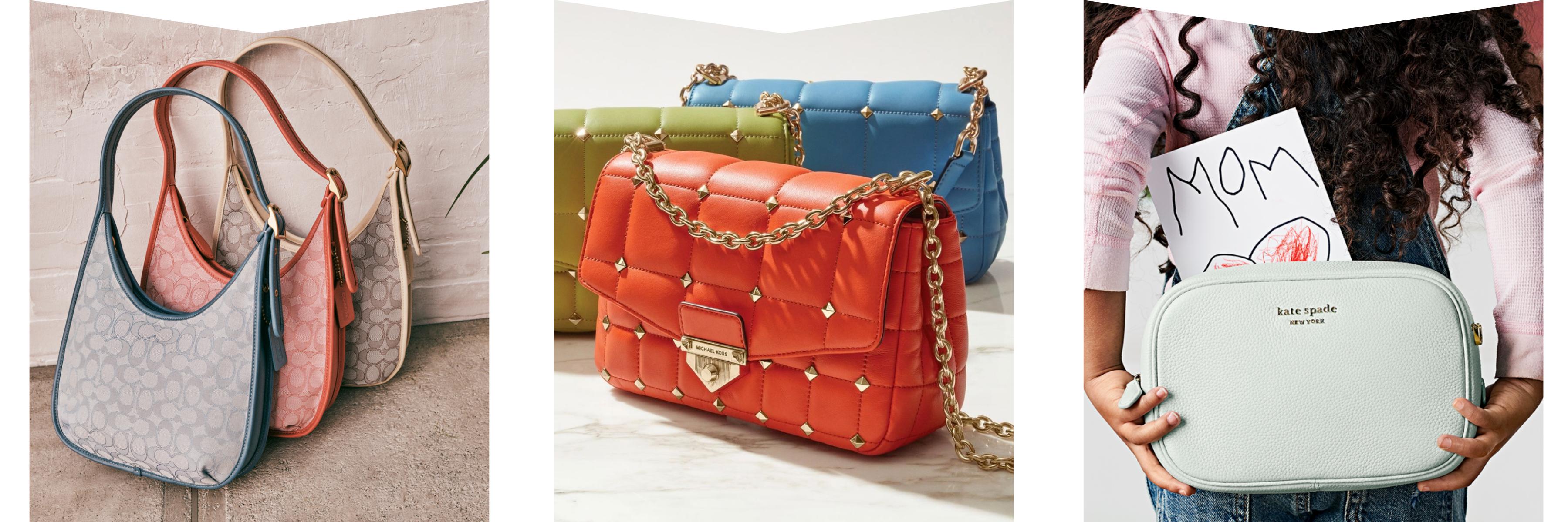 Coach, Michael Kors & Kate Spade handbags