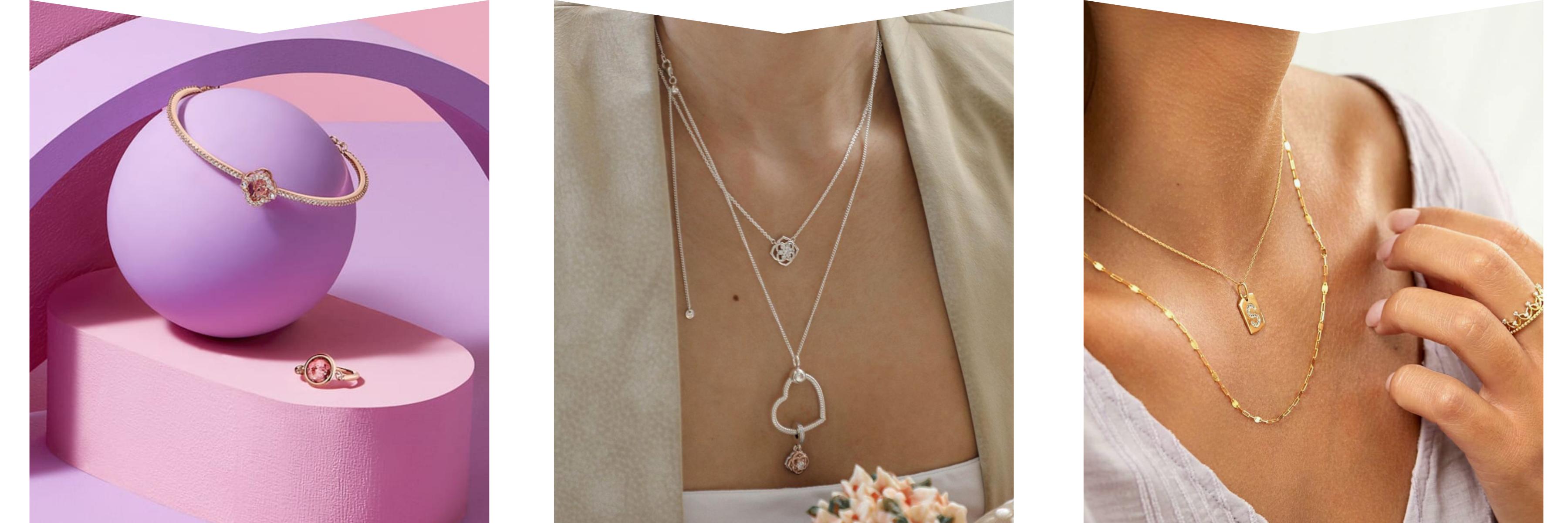 Swarovski, Pandora & Michael Hill jewellery
