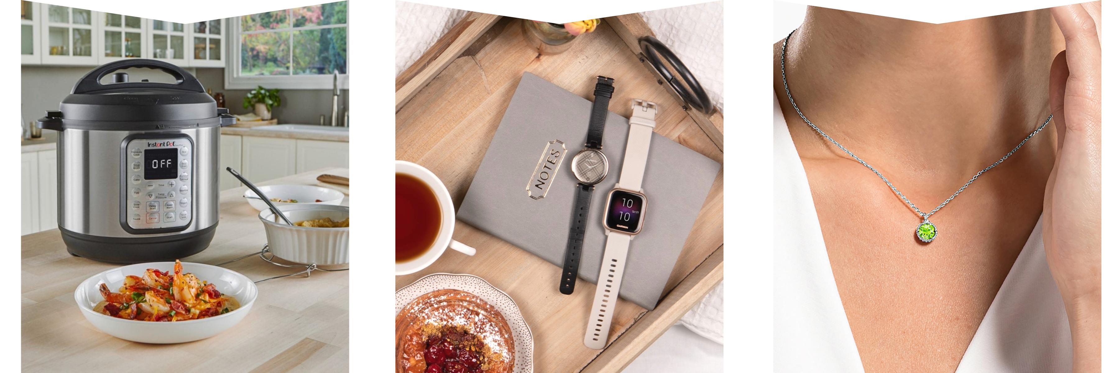 Instant pot, smart watch & jewellery