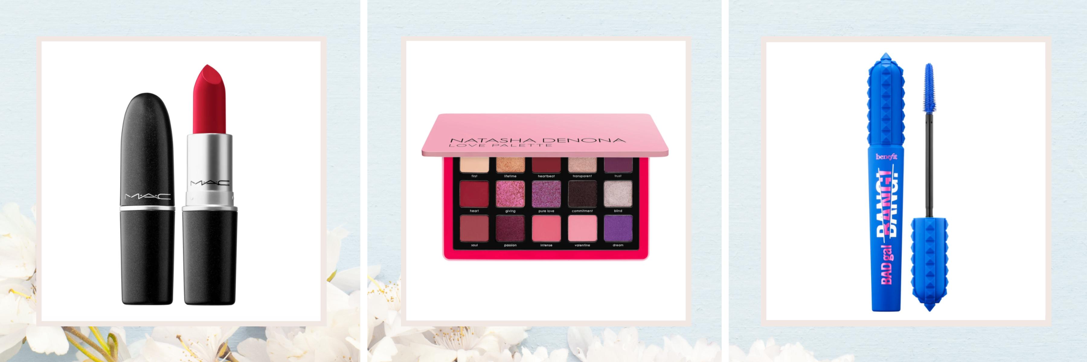 Lipstick, Eyeshadow Palette & Mascara