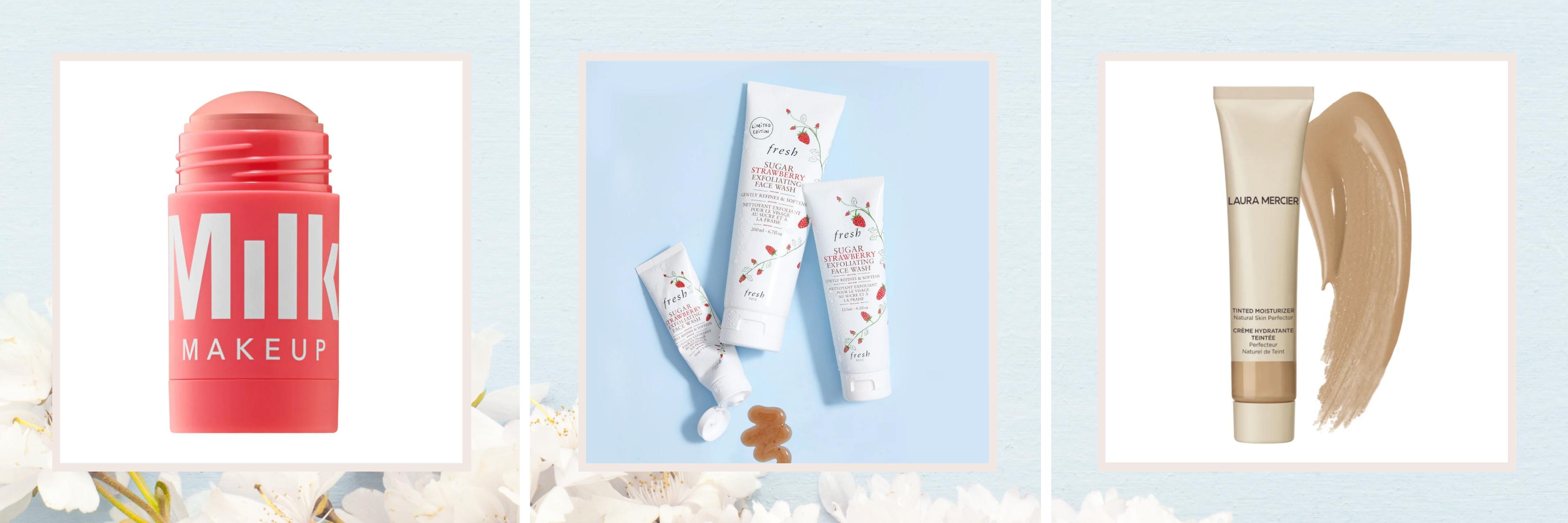 Skincare - Face mask, face wash & tinted moisturizer