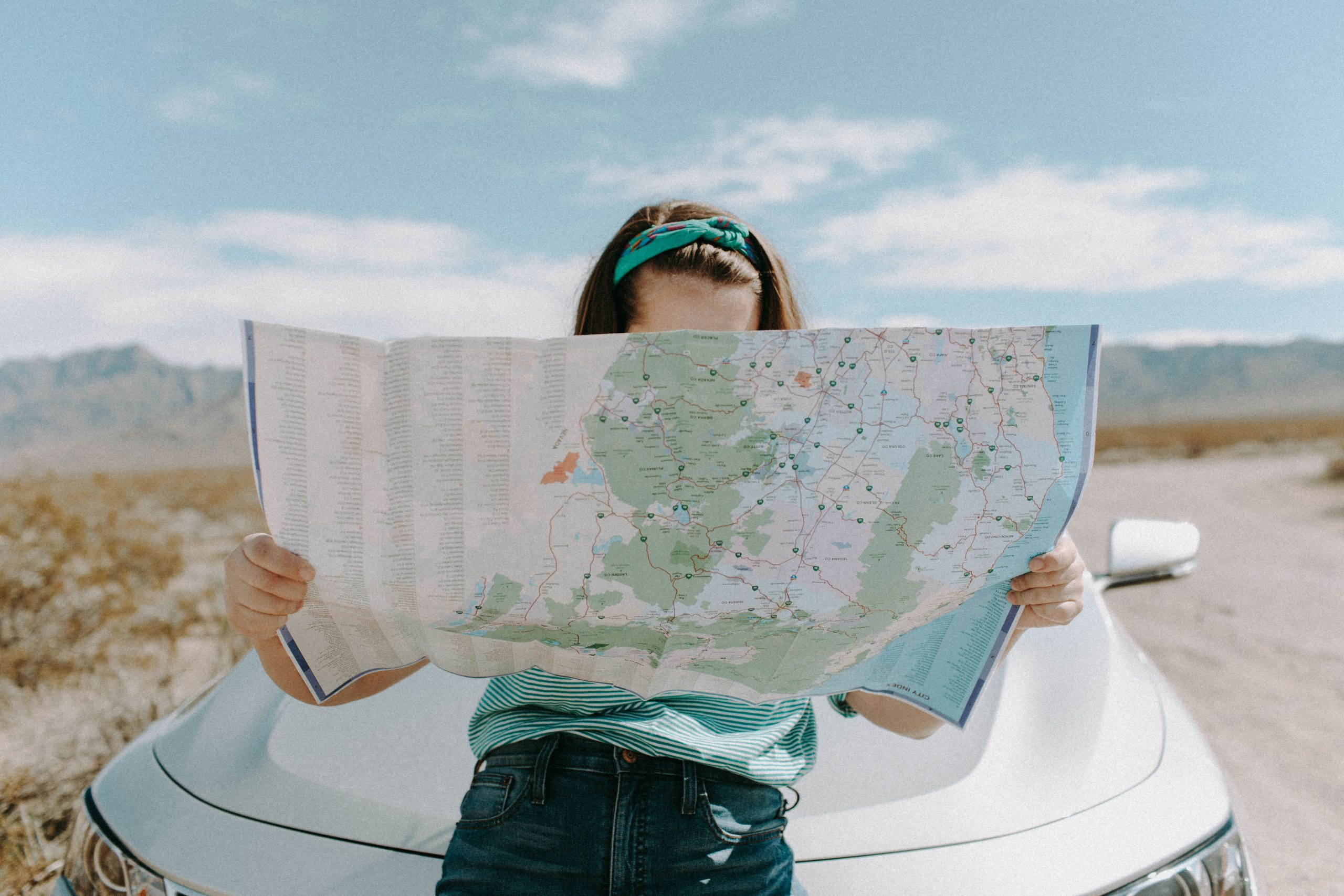 Road trip - Checking the map