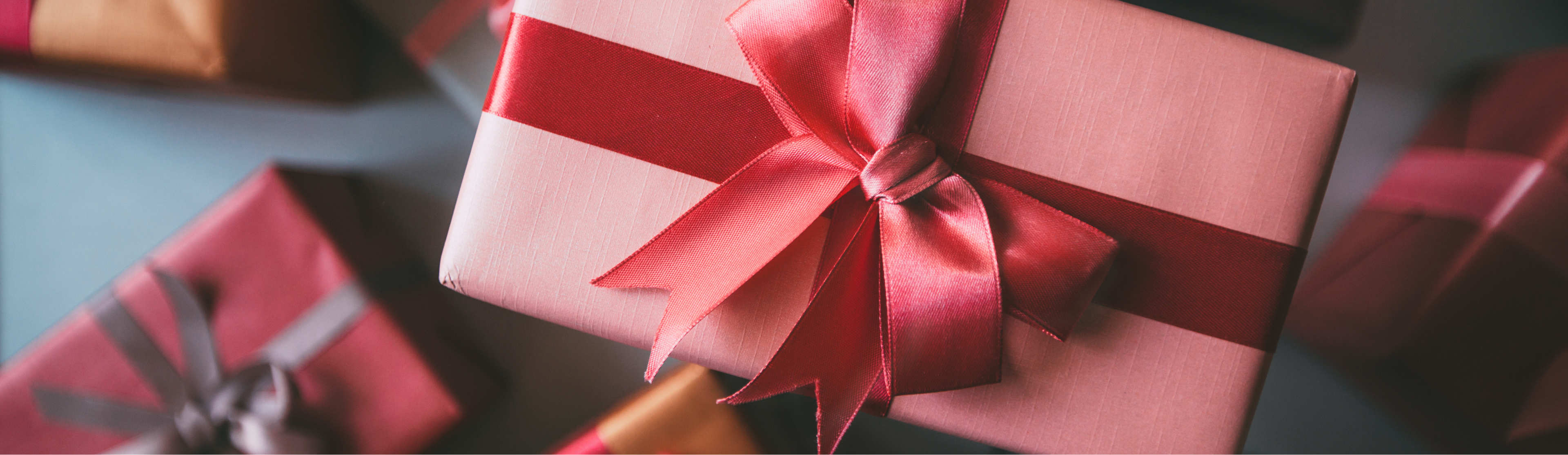 Pink Wrapped gift